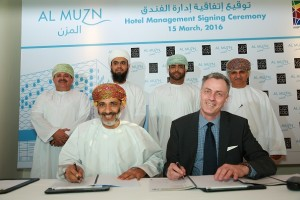 Mr. Mohamed Al Kindi, Chairman of Muzn Oman Commercial (S.A.O.C.) & Laurent A. Voivenel, CEO of HMH