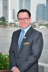Mr. Patrick Manthe General Manager of Chatrium Hotel Riverside Bangkok