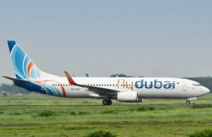 One of FlyDubai's B737-800 fleet (not the one the crashed)
