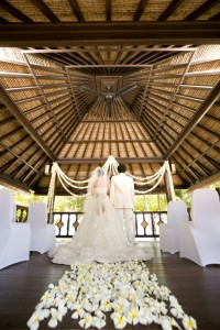 Romantic Bale Pavilon at InterContinental Bali Resort