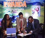 Rwanda Tourism Chamber signing MOU with Travel Agent Federation of India