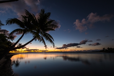 Sunset in Rarotonga 2_Sean Scott Photography