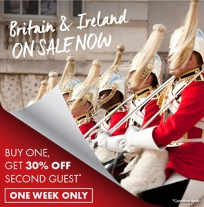 Trafalgar Britain & Ireland Sale