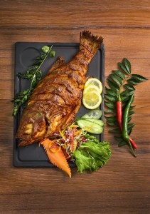 W Taipei News Release- Indulge Indian Food Festival The Land of Spices at the kitchen table restaurant (4)-Tandoori Fish With Condiments