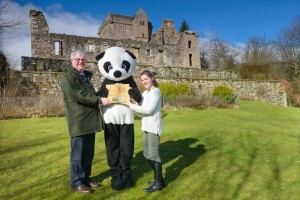 David Middleton, Chief Executive of Historic Environment Scotland, today visited Campbell, near the town of Dollar, to collect the WWF Scotland Public Body Champion Award. The award is given in recognition of Historic Environment Scotland's commitment to tackling climate change, and supporting WWF's Earth Hour. On collecting the award, David Middleton said:  I'm delighted that the hard work and dedication of our staff has been recognised by WWF in this way. It's thanks mainly to the efforts of our climate change team and the tireless efforts of our Green Champions' at sites such as Castle Campbell, that we are gaining international recognition for our efforts to tackle the effects of climate change on the historic environment, whilst also driving behavioural changes within our own organisation to ensure we are one of the country's lead bodies in the transition to a low-carbon economy in Scotland.Lang Banks, Director of WWF Scotland, said:  I'm delighted to announce Historic Environment Scotland as our Public Body Champion for all their efforts in support of our annual Earth Hour initiative. This award clearly demonstrates the commitment of the organisation to tackling climate change and protecting our brilliant planet. We look forward to working with our newly crowned Champions for Earth Hour 2016.Last year Historic Scotland won the Public Body Champion Award. In October 2015, Historic Scotland and the Royal Commission of Ancient and Historic Monuments Scotland (RCAHMS) joined to create Historic Environment Scotland. The award was presented prior to the WWF's annual Earth Hour' initiative, which takes place on Saturday 19 March, where people across the globe will be switching off their lights for one hour (8.30 - 9.30 pm) to demonstrate that they care about the future of our wonderful planet. In Scotland, 13 Historic Environment Scotland sites will be taking part, including Edinburgh Castle, Linlithgow Palace, Glasgow Cathedral, and Castle Campbell.