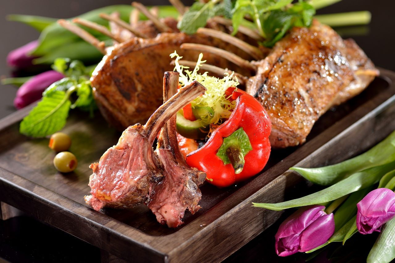 2_L'Eau Restaurant_Grilled Lamb Rack 濠餐廳_燒羊鞍