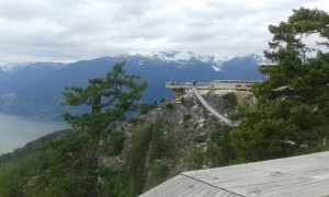 Top of Sea to Sky Gondola