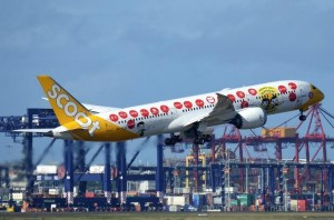 Scoot takes off from Sydney Airport