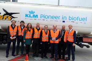 KLM launches new series of biofuel flights from Oslo to Amsterdam