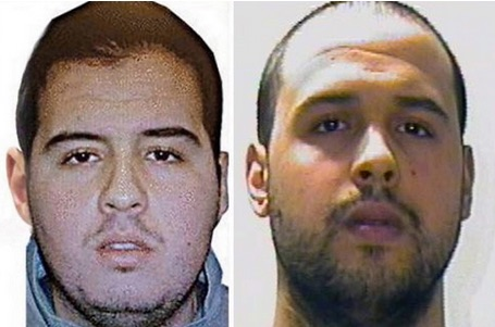 Brussels Airport bombers Brahim and Khalid el-Bakraoui had previously spent time in prison. EPA_Interpol