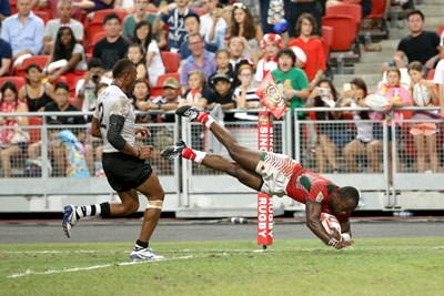 Kenya blows Fiji away in SingaporeSevens final