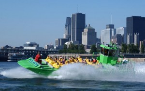 Jet Boating the Lachine Rapids on the St. Lawrence River