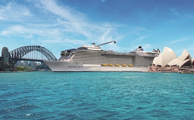 Ovation of the Seas - Sydney Harbour