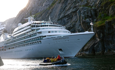 Ventures by Seabourn zodiac in Northern Europe - email