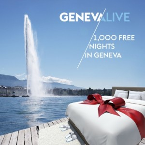 You are invited to Geneva, Switzerland - Take your chance now! (PRNewsFoto/Geneva Tourism)