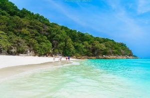 Beach on Koh Tachai