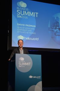 David Padman - Head of helloworld Associate, Corporate and Affiliate networks _low res
