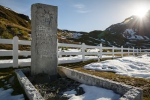 Grytviken, South Georgia - where Sir Ernest Shackleton is laid to rest - Aurora Expeditions (Credit Chris van Hove)