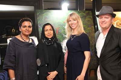 Jessica Watson-Thorp, Beena Samuel, Des Spencer and Tauseef Al Mulla