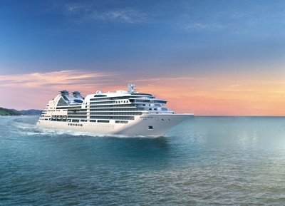Seabourn Encore ship rendering