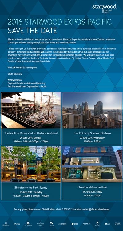 Starwood Pacific Expo 2016 - Invite