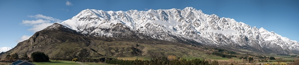 Stunning view from Remarkables Park Queenstown hotel site 25 05 16