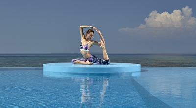 Sunset Yoga_W Maldives_EXTREME WOW OCEAN HAVEN 2