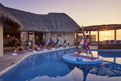 Sunset Yoga_W Maldives_EXTREME WOW OCEAN HAVEN
