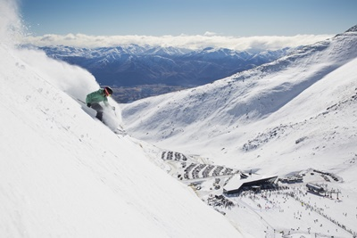 The Remarkables ski area has international appeal for skiers and boarder...