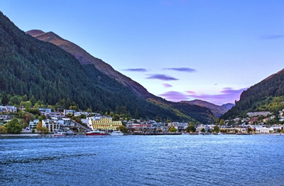The centrally-located Crowne Plaza Queenstown overlooking Lake Wakatipu