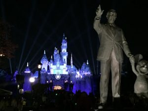 Personal travel manager discovers Disneyland's wonderland spectacular at night