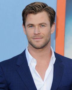 "WESTWOOD, CA - JULY 27:  Actor Chris Hemsworth arrives at the Los Angeles Premiere ""Vacation"" at Regency Village Theatre on July 27, 2015 in Westwood, California.  (Photo by Jon Kopaloff/FilmMagic)"
