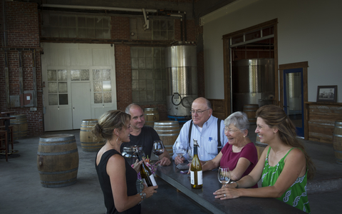 Elizabeth Chambers Cellars remodeled tasting room, McMinnville, Willamette Valley, Oregon