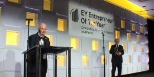 Bill-Marriott-acceping-EY-award