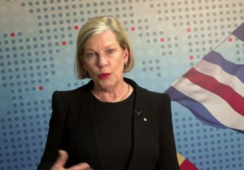 Chief executive of Carnival Australia, Ann Sherry, explain the situation well in a video on Facebook.