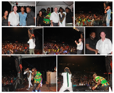 Fet Afrik music show Radio and Weasel with friends