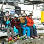First on the chair at Coronet Peak opening