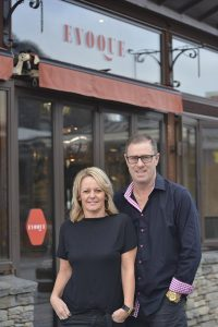 Kym Howley and Carol Edwards have opened new cafe Evoque