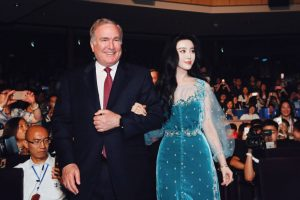 OV Naming Ceremony - Godmother Fan Bingbing with Richard Fain