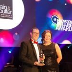 PCA Awards - ibis Adelaide's Jeremy Samuels and Suzie Brain from Brain & Poulter