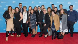 Princess Cruises' Australian team at the premiere of Captain Fantastic at the Sydney Film Festival