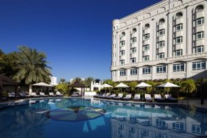 Radisson Blu Hotel, Muscat - Swimming Pool View 1