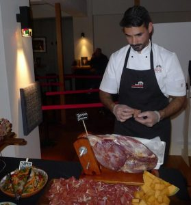 Spanish chef contemplates delicacies at launch of Cathay Pacific's new Madrid service