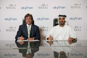 Miral signs MoU with skyTran