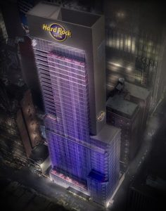 Official First Image of Hard Rock Hotel New York