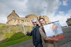 "Historic Environment Scotland have challenged a group of top travel bloggers to visit as many historic sites as possible in just two days with the History Hunters challenge.The Scotlanders are a group of writers dedicated to uncovering the best places to go in Scotland and sharing their tips online.  On Saturday 23rd and Sunday 24th July, they will split into three teams to travel across the country looking for the best historic haunts to visit – from castles to cairns, and from Duff House to Drumtroddan Standing Stones.Members of the public are being asked to tweet historic visit suggestions to the group using the hashtag #HistoryHunters. The aim is to get Scotland's history trending on Twitter over the course of the weekend.Lisa Robshaw, Marketing Manager at Historic Environment Scotland, said: ""There are a lot of resources available to help the Scotlanders with their challenge, including our app, Movie Trail and other maps we've produced to help people follow in the footsteps of Mary Queen of Scots and the Outlander books. We've helped the team a bit by creating a special survival kit, which does include our Members' Handbook – but it's really up to them to uncover the best historic visitor spots for themselves.""We'll be cheering them on from the social media sidelines, but they'll also be relying on members of the public to get involved by tweeting suggestions of the best places to visit, whether it's a hidden gem such as Hailes Castle in East Lothian or a major but unmissable attraction like Urquhart Castle.""Laura Brown (Laretour) and Patricia Cuni (Mad About Travel) will be covering the North of Scotland, Neil Robertson (Locomotion Scotland) and David Weinczok (The Castle Hunter) will be in the central belt, and Kay Gillespie (Chaotic Scot) and Nicola Holland (Funky Ellas Travel) will be in the Scottish Borders, Dumfries and Galloway.To make suggestions and watch the challenge unfold, follow on Twitter @welovehistory and Instagram @historicscotland and use the hashtag #HistoryHunters"
