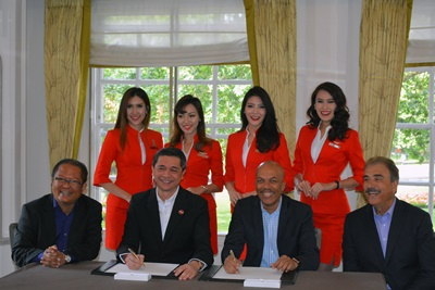 AirAsia LEAP-1A signing ceremony