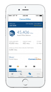 Copa Airlines Connect Miles