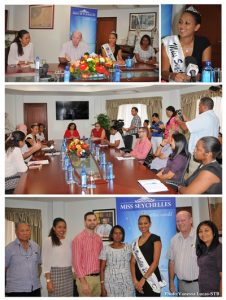 Miss seychelles project meeting