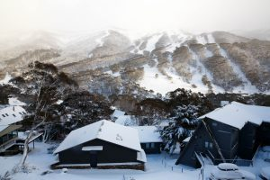Thredbo looking beautiful under 85cm of fresh snow